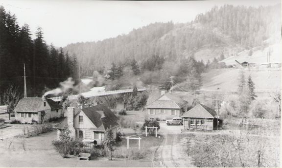 The Tiller Ranger Station Tiller, Oregon in 1941.